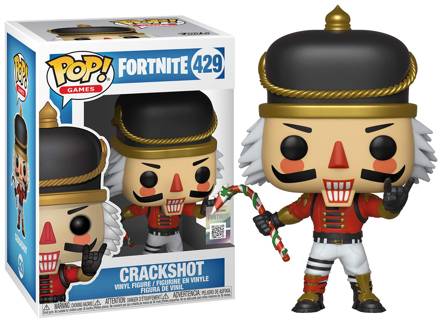 Funko Pop Crackshot (Fortnite 429) Funko Pop Fortnite