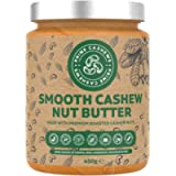 Natural Smooth Cashew Nut Butter - 450g - Award Winning - Dry Roasted - Free from emulsifiers, Oils, Salts & sugars…