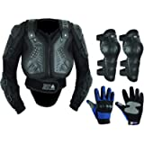 Childrens Kids Motorbike Protective Body Armour Protection With Back Protection Protector Great For Sporting Activities…