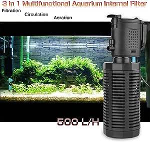 500l H Tauchen Sie Wasser Pumpe Aquarium Fisch Tank Wasser Innenfilter Pumpe Mit Verstellbarem Spray Bar Haustier