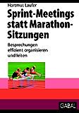 Sprint-Meetings statt Marathon-Sitzungen: Besprechungen effizient organisieren und leiten (Whitebooks)