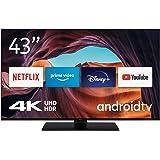Nokia Smart TV 4300A 43 Zoll (108 cm) Android TV (4K UHD, DVB-C/S2/T2, Netflix, Prime Video, Disney+)