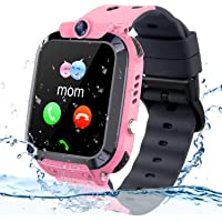 Vannico Bambini Smartwatch. Bambino GPS/LBS Smartwatch Android Orologio bambina Impermeabile SOS Touch Screen Anti-Lost…