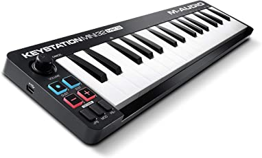M-Audio Keystation Mini 32 MK3 - Ultra-portabler Mini USB MIDI Keyboard Controller mit ProTools First | M-Audio Edition und Xpand!2 von Air Music