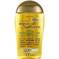 OGX, Olio per capelli a forte penetrazione, Renewing + Argan Oil of Morocco, Extra Penetrating Oil, Capelli Secchi e…