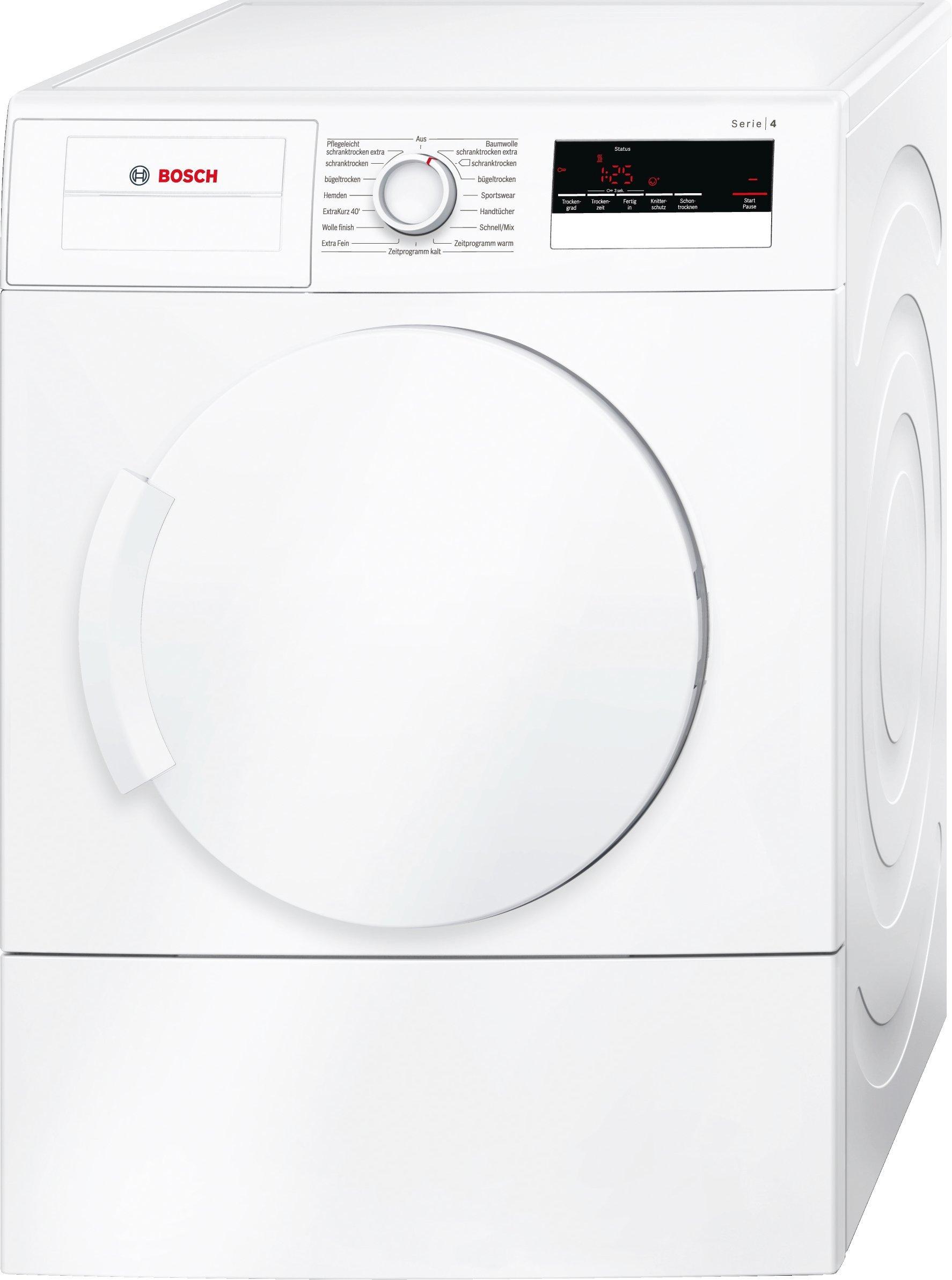 Bosch WTA73200 Serie 4 Ablufttrockner, 7 kg Füllmenge, AutoDry, Sensitive Drying System