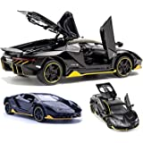Storio Cars 1:32 Diecast Metal Pullback Toy car for Kids Best Gifts Toys for Kids Boys - Black