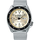 Seiko Sport 5 Facelift Automatic Stainless Steel Watch SRPE75K1 Beige