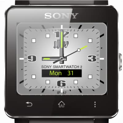 JJW Spark Watchface Platinum Limited Edition for Sony SmartWatch 2