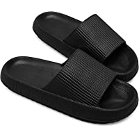 Womens Thick Pillow Sliders – Ladies Home, Shower Comfy Slippers Size 4 5 6 7 8 9 10. Light Extra Comfortable & Soft…