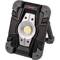 Brennenstuhl Akku LED Arbeitsstrahler ML CA 110 M / LED Baustrahler für außen 10W (Robuste LED Arbeitsleuchte Akku mit…