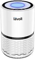Levoit Luftreiniger Air Purifier mit HEPA-Kombifilter & Aktivkohlefilter, 3-Stufen-Filterung für 99,97% Filterleistung und Nachtlicht, perfekt für Allergiker und Raucher, LV-H132