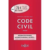 Livres Code civil 2021 annoté. Édition limitée - 120e ed. PDF