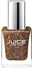 Juice Silverish Gold Long Stay Nail Colour | Los Angeles Collection | 11 ml.