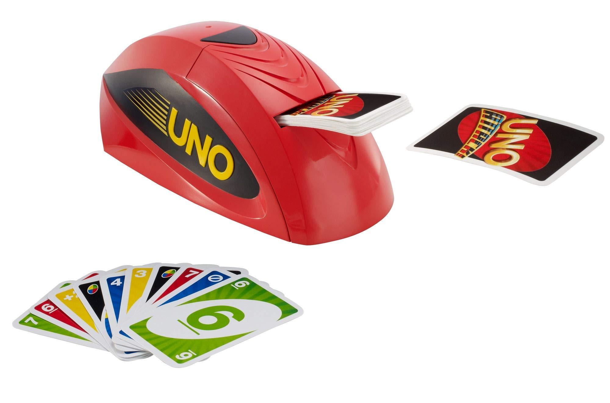 Mattel Games V9364 - UNO Extreme Kartenspiel, geeignet für 2 - 10 Spieler, Spieldauer ca. 15 Minuten, Gesellschaftsspiele und Kartenspieleab 7 Jahren 4