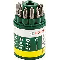 Bosch 2607019454 Barattolo Inserti Avvitamento, 10 Pezzi, PH-PZ-Taglio