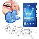 Y.F.M Bite Dentale Automodellante: 4 X Bite Bruxismo Notturno Automodellante con Porta Bite Dentale, Dispositivo Anti Russame