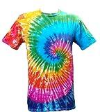 Tie Dye Acid House Spiral 700486 Herren T-shirt