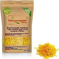 100% Bienenwachspastillen gelb für Kosmetik (100 g) Bienenwachs Pastillen