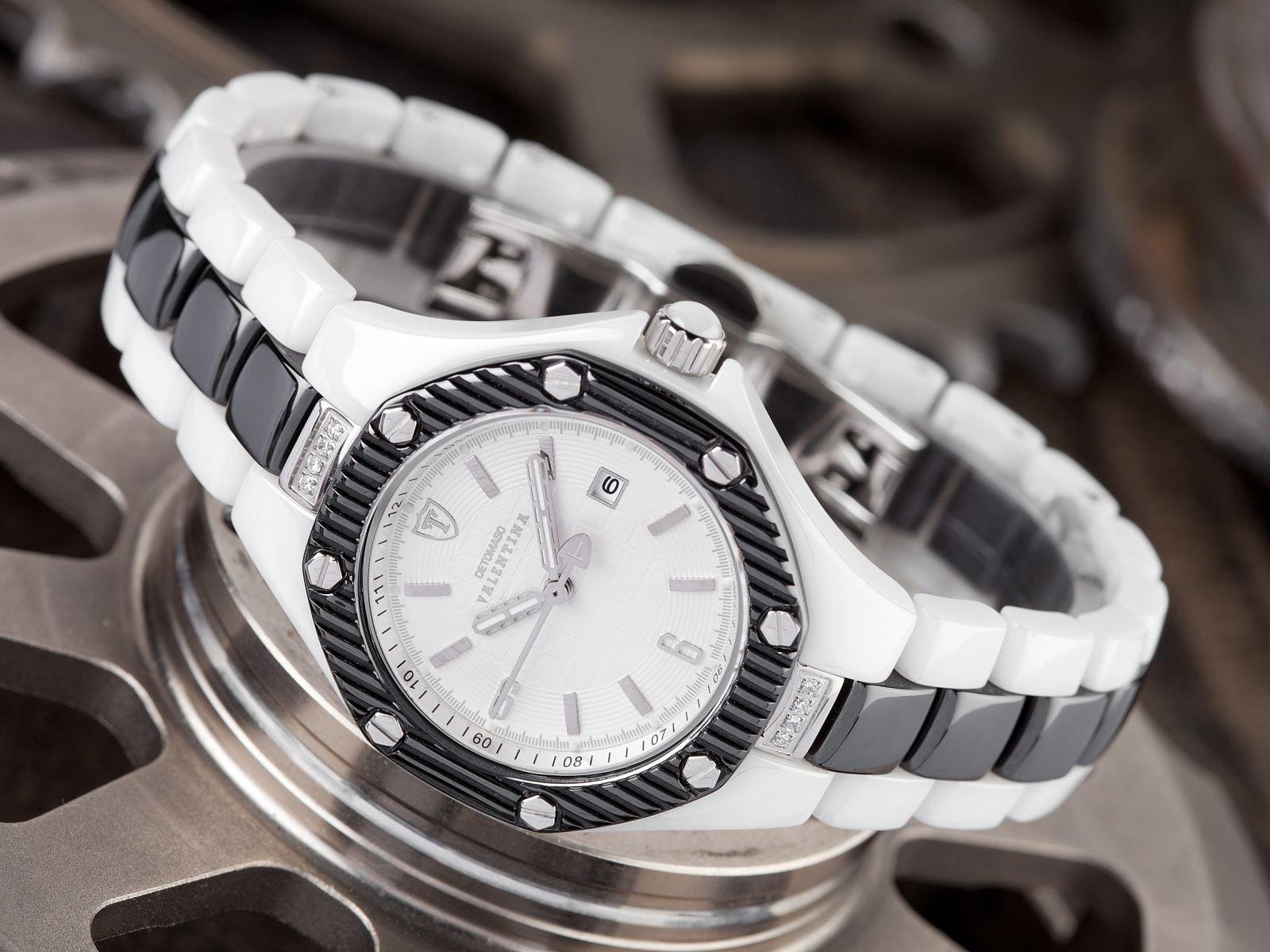 Detomaso DT3005-E – Reloj analógico de Cuarzo para Mujer con Correa