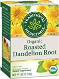 Traditional Medicinals Organic Roasted Dandelion Root Tea - Caffeine Free - 16 Bags - HSG-670398