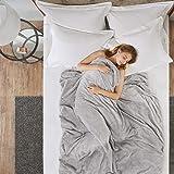 Coperta ponderata - Grande Coperta di Sonno con Perle di Vetro - Migliora Sonno - Riduce Lo Stress, l'ansia, i sintomi di aut