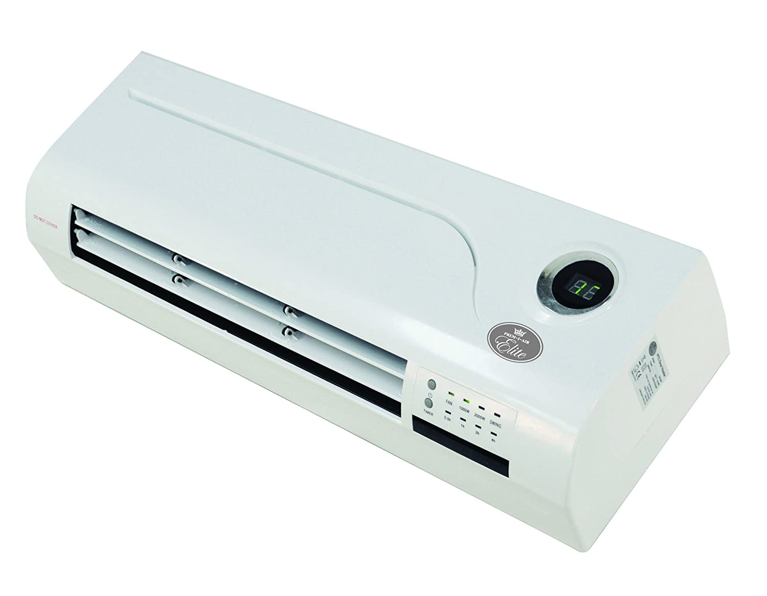 Prem I Air PTC Over Door Heater/Fan With Remote Control And Timer, 2 KW:  Amazon.co.uk: Kitchen U0026 Home