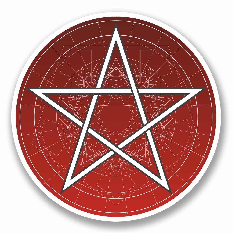 2 x 10cm pentagram symbol vinyl sticker pagan satanic magic 2 x 10cm pentagram symbol vinyl sticker pagan satanic magic astrology star 9740 10cm wide x 10cm high amazon car motorbike biocorpaavc Choice Image