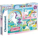 Clementoni- I Believe in Unicorns Conjunto De Puzzles, Multicolor (25231.2)