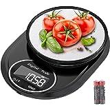 Bilancia da cucina, Hoobabuy 5kg/11lbs Smart Digital con Funzione di Tara, Bilancia Elettronica Professionale in Acciaio Inos