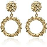 Jewels Galaxy Stylish Handcrafted Circular fabulous Drop Earrings For Women/Girls