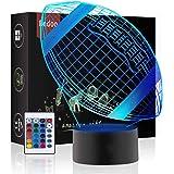 Luci notturne a LED Illuminazione Lampada da Tavolo da Letto Illusion 16 Colori Smart Touch Button Regalo Sveglio Regalo Pres
