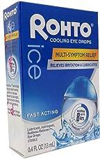 2 Pack - Rohto Ice Eye Drops 0.40 oz
