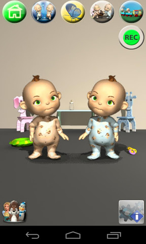 Zoom IMG-1 talking baby twins free