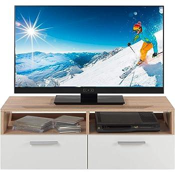 Idimex Tv Mobel Lowboard Fernsehtisch Tv Tisch Tv Element Gero Weiss
