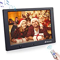 Digital Photo Frame 10 inch,Powerextra 1280 x 800 High Resolution Full IPS Display Photo support USB,Support USB and SD…