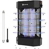 Lampe Anti-Moustique, 12W Anti-Moustique Electrique - Lampe UV, Tueur d'Insectes Electrique, Efficace Portée 60m² Anti-Mousti