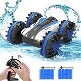 allcaca - Coche teledirigido 4WD para niños, 2,4 GHz, Juguete Impermeable, Escala 1/18, con giros de 360 ° y Vueltas, Color A
