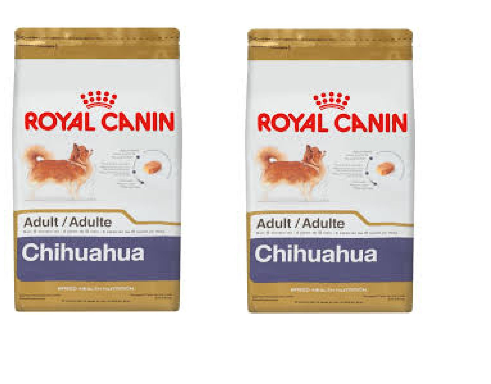 Royal Canin Chihuahua Adult Dry Dog Food 3KG x 2 bags = 6kg