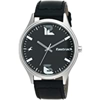 Fastrack Analog Black men Watch 3229SL02 / 3229SL02