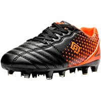 DREAM PAIRS Kids Boys Girls Football Boots Soccer Cleats Shoes(Toddler/Little Kid/Big Kid