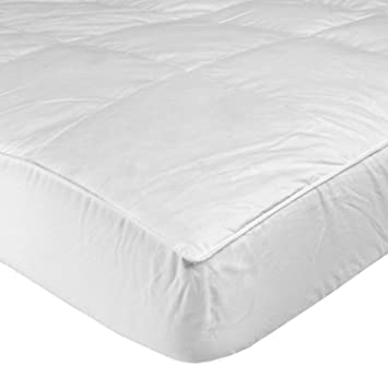 homescapes feather down mattress topper protector king wash at home anti dust