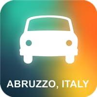Abruzzen, Italien GPS