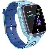 Horloge voor kinderen GPS-tracker, smartwatch voor kinderen, GPS, LBS, SOS, camera, touchscreen, HD, jongens, meisjes, GPS-ho