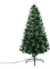 homcom  Weihnachtsbaum künstlicher Christbaum Tannenbaum Baum mit Ständer, Metall