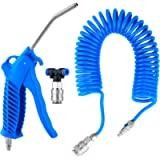 Fippy Air Duster Blow Gun with 5 Metre Recoil Hose Blow Dust Gun Heavy Duty Air Compressor Cleaning Kit for Lorry Truck…
