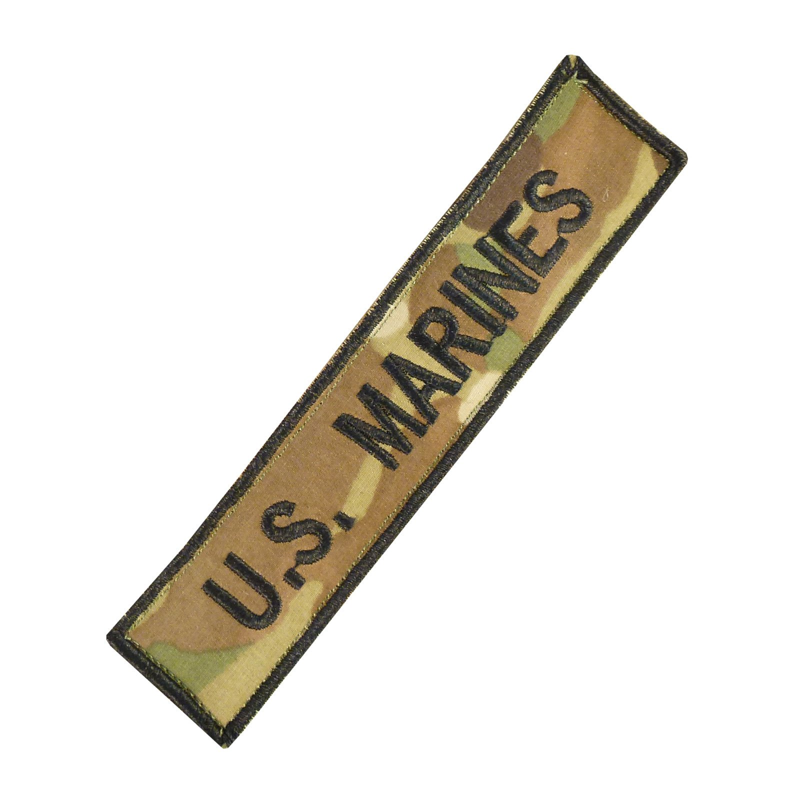 US Marines USMC Name Tape Multicam Ricamata Ricamo Combat Hook&Loop Toppa Patch