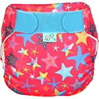 TOTSBOTS Reusable Baby Swim Nappy - Beautiful Swim Nappies Size Newborn to Toddler, Fun in The Sun or Paddle at The Pool Swimming Pool Safe (Little Star)