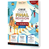 Educart All Subjects Final Revision Book Of CBSE Class 10 Strictly For May 2021 Exam (Objective Maps + Case based Q…