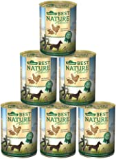 Dehner Best Nature Hundefutter, Adult Huhn und Kaninchen mit Nudeln